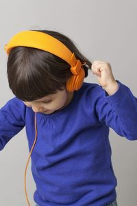 Tiny Dancer Promo Image - Child with Headphones Dancing